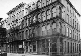 Reed Rubber Company building in 1922