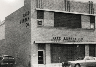 Reed Rubber Company building in 1960